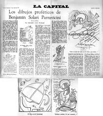 Dibujos de profecias Benjamin Solari 2013