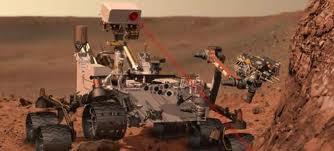 explorador Curiosity en Planeta Marte