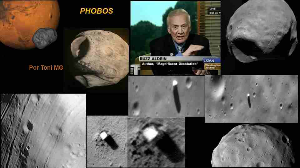 misterio de phobos satelite de marte