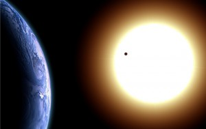 foto de venus pasando por delante del sol 6 junio 2012