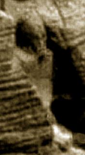 foto Estatua antiguo egipto en marte