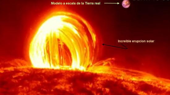 Resultado de imagen para erupcion solar