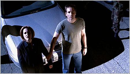 X-Files mulder y scully