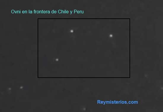 Ufo frontera de Chile y Peru