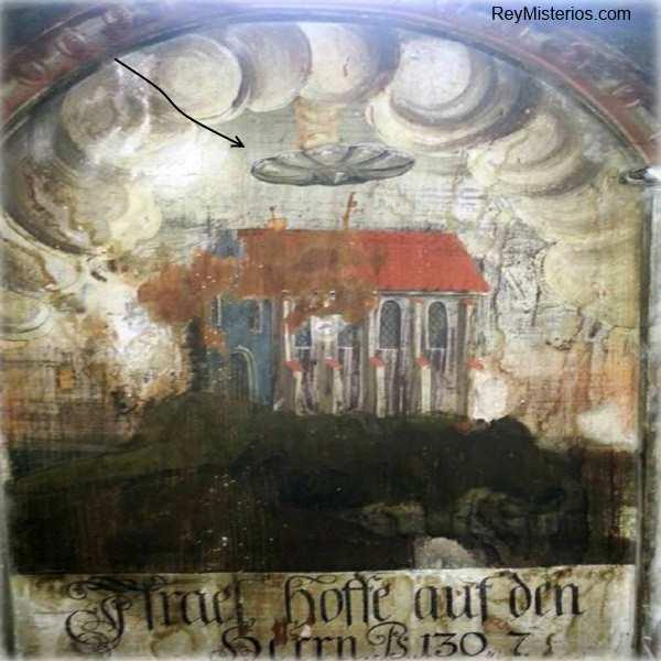 ovni pinturas antiguas